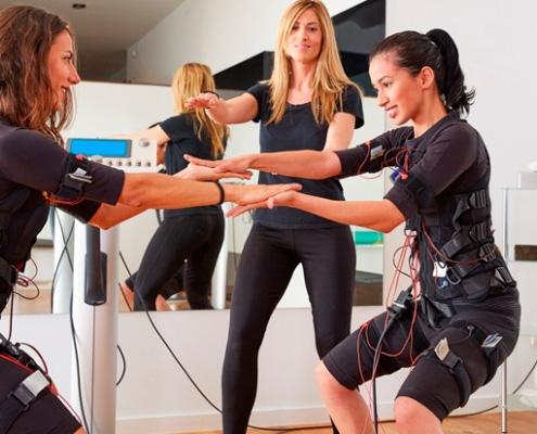 EMS тренировка, ЭМС, электромиостимуляция
